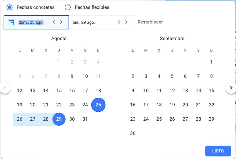 buscador de vuelos google