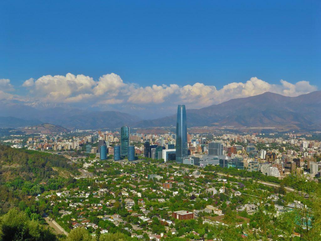 zonas y comunas santiago de chile