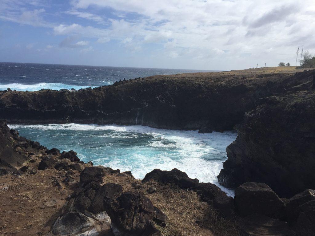fotos moais isla pascua