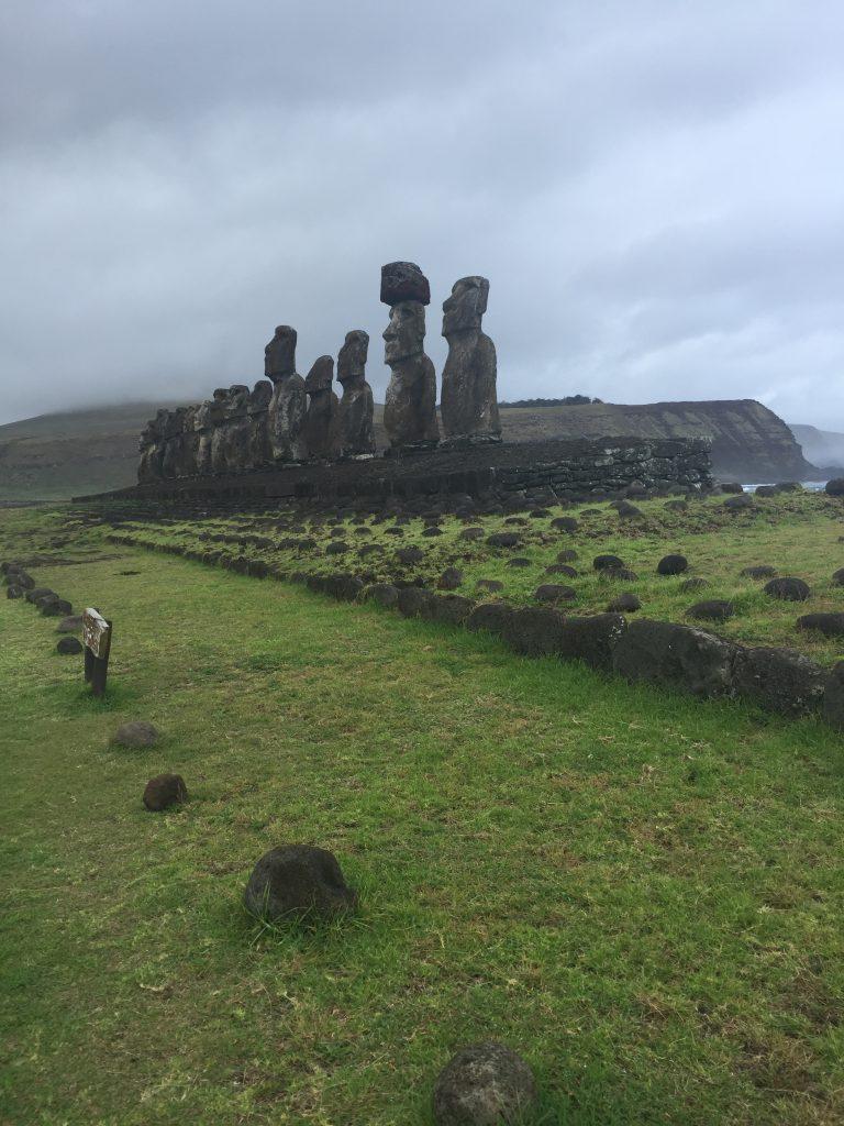 paisajes de isla de pascua
