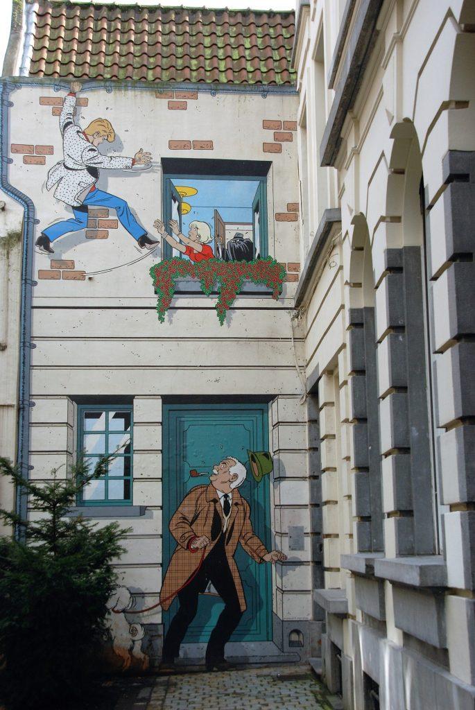 cosas que hacer en bruselas murales