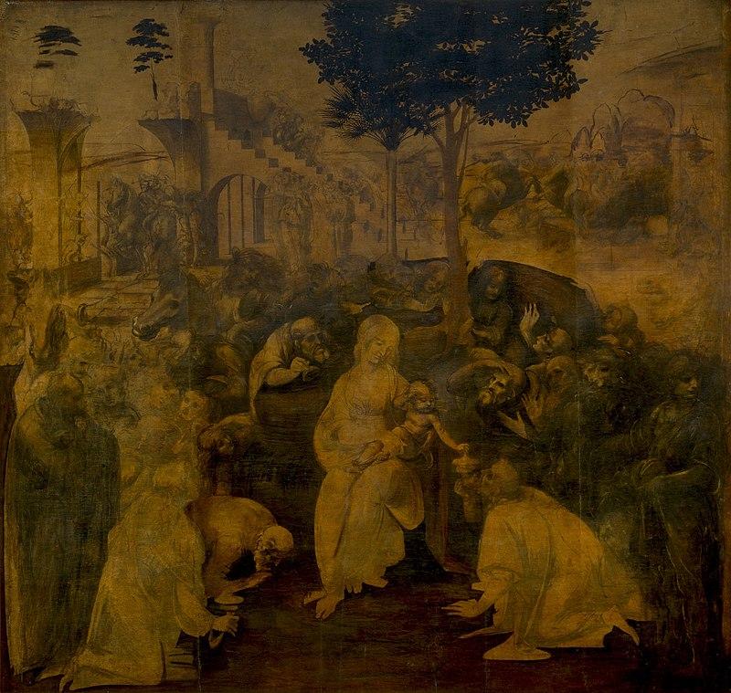 galeria uffizi obras