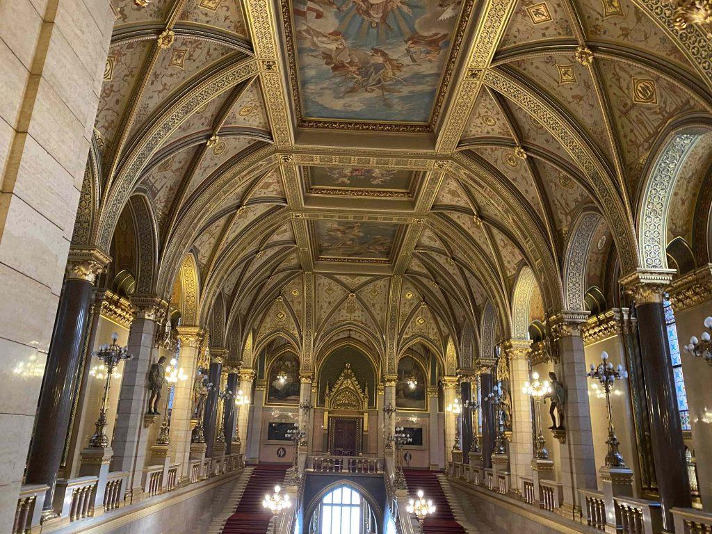 el parlamento de hungría budapest