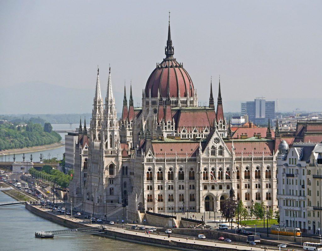 visita parlamento de budapest
