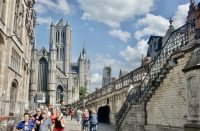 Cómo ir de Bruselas a Gante: tren, autobús y excursión (2020)