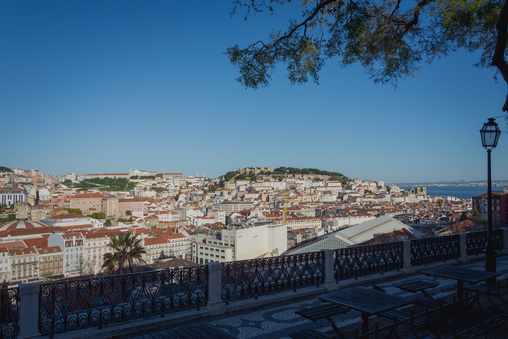centro de lisboa portugal paradas